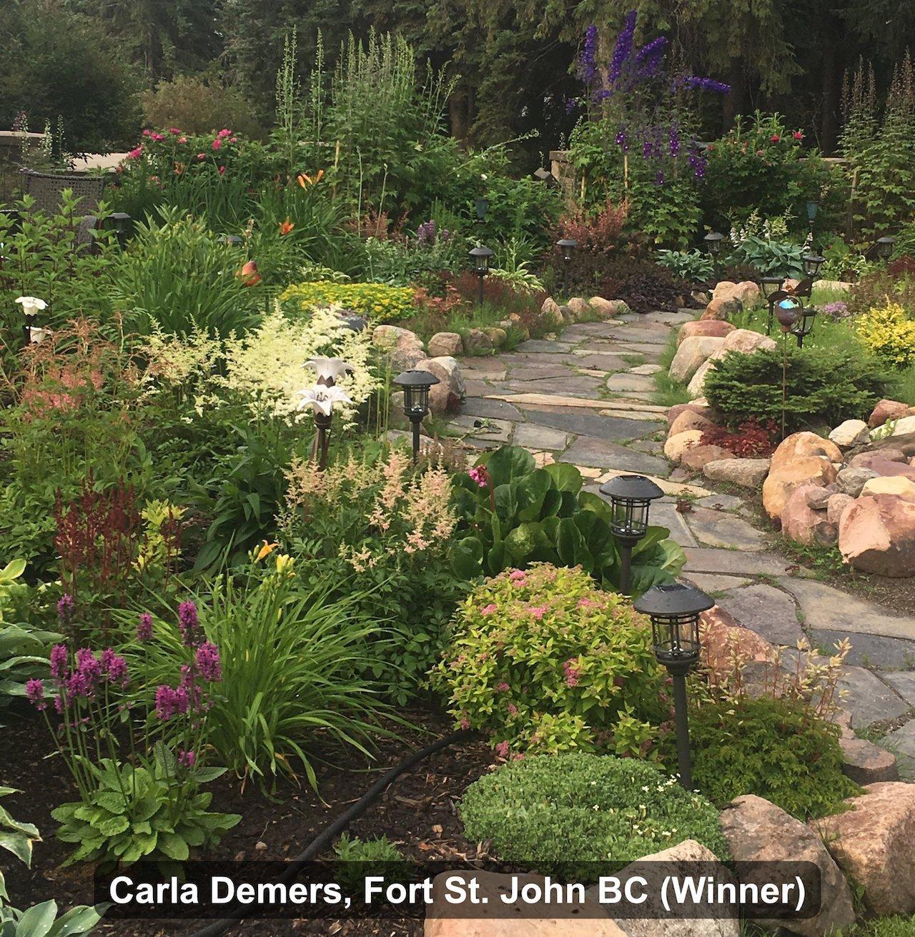 Grand Prize Winner - Carla Demers, Fort St. John BC